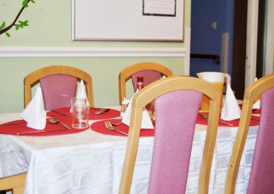 Comfortbale dining areas