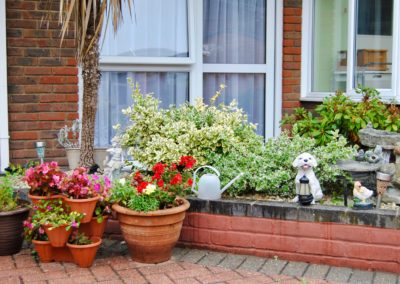 Our gardens are maintained beautifully